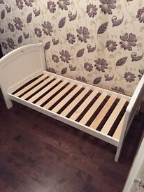 Nearly new toddler bed