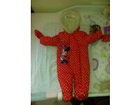 baby disney snowsuit 6-9m