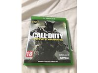 Xbox one call of duty infinite warfare game