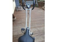 Confidence fittness exercise bike colour grey £40