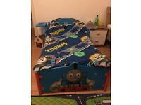 Thomas train boys single bed with mattress