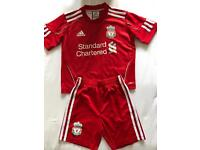 Kids Football Kit - LFC - Age 3-4 yrs