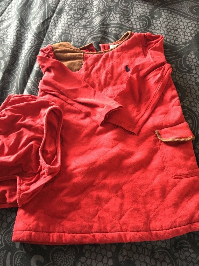 Polo Ralph Lauren dress age 18 months