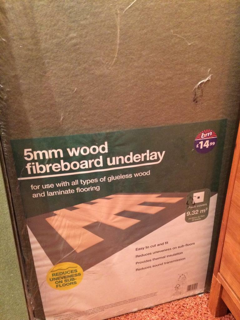 37m2 Wood Fibreboard Underlay 5mm For Laminate Flooring