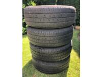 VW T5 Steel Wheels With Tyres
