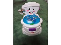 Fisher-Price My Potty Friend, fully working, good condition