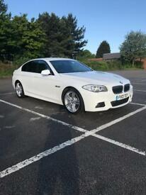 BMW 5 Series 520d M Sport White Auto