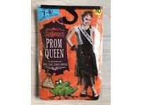 BRAND NEW WILKO HALLOWEEN PROM QUEEN COSTUME 7-8 YEARS