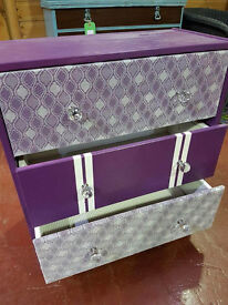 Upcycled 3 Drawer Chest