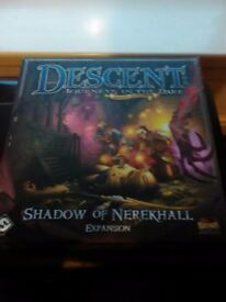 Descent Journeys In The Dark 2nd Edition - Shadow Of Nerekhall Expansion