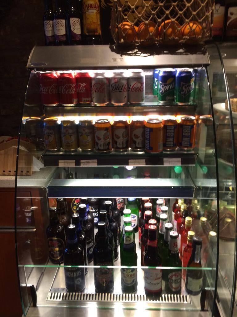 Drinks multi deck display fridge