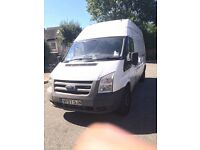 Ford TRANSIT LWB HIGHROOF 2007 /EXCELLENT ENGINE /12 month MOT