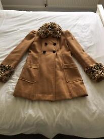 Winter coat size ten