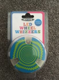 Micro scooter LED wheel whizzers
