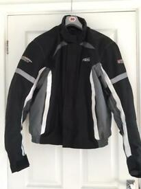 Spada motorbike jacket size medium M padded armour winter men's motorcycle