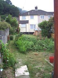 3 bedroom semi-detached house, large garden, convenient but quiet residential location