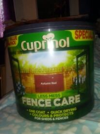 cupinol fence care paint 12.5 liters