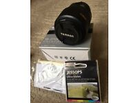Tamron lens 18-270mm Zoom... Nikon mount. Pristine