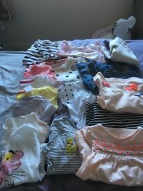 Bundles of girls clothes aged 18-24 and 24-36