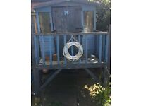 ***FREE***Wooden outdoor Playhouse