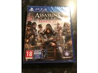 Brand new in sellphene packing Assasins creed syndicate PS4