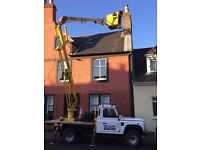 EXTERIOR PAINTING PROPERTY MAINTENANCE SPECIALISTS CHERRY PICKER HIRE