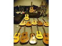 Job lot of guitars!