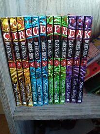 Darren Shan 'Cirque Du Freak' complete series