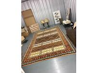 Large Moroccan carpet.