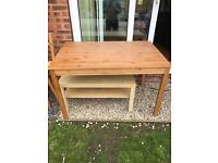 IKEA Coffee table and dining set