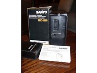 Sanyo Microcassette with box Excellent Condition