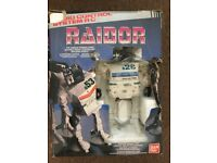 raider rc robot from 1980's