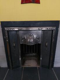 Iron Fireplace insert