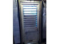 BARGAIN - £20 back door reinforced window garage conversion DIY building tools UPVC Composite