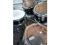 Drum lessons at a new practice studio-Gatwick