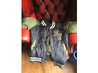 7 Boys jackets mostly size small but suitable for teenagers 14+