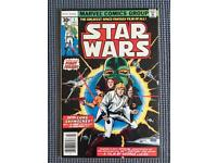STAR WARS #1 (Marvel Comics - 1977) Near Mint - Very Fine+ Condition