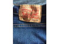Levi's Men's 501 Jeans- W38 L32