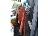 Scrap timber, fencing, wood, upcycle recycle free.
