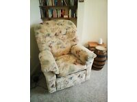 Large Reclining Armchair