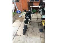 Road legal pit bike 125cc years mot learner legal (pitbike stomp 125 supermoto)