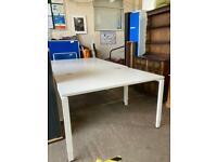 White desks 120cm x 80cm