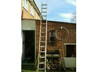 30 ft double ladders