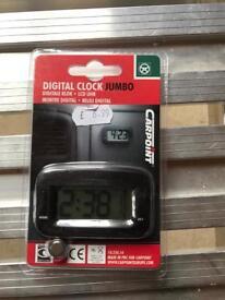 Digital clock jumbo