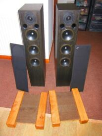 Acoustic Energy AE 120 speakers, superb sound, superb condition.