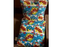 Boys bedroom cushions x 2