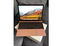 2017 Apple MacBook Retina 12 inch ROSE GOLD