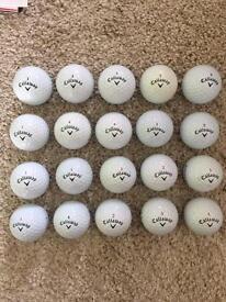 Callaway Premium Golf Balls x20 (Pearl/A Grade mix)