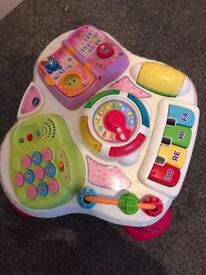 Vetch pink girls activity table