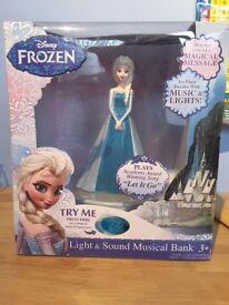 Frozen Elsa Light & Sound moneybox